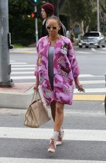 MELANIE BROWN Out and About in West Hollywood 03/20/2018