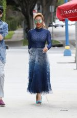 MELANIE BROWN Out in West Hollywood 02/28/2018
