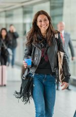 MELANIE SYKES at Heathrow Airport in London 03/28/2018