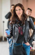 MELANIE SYKES at Heathrow Airport in London 03/28/2018