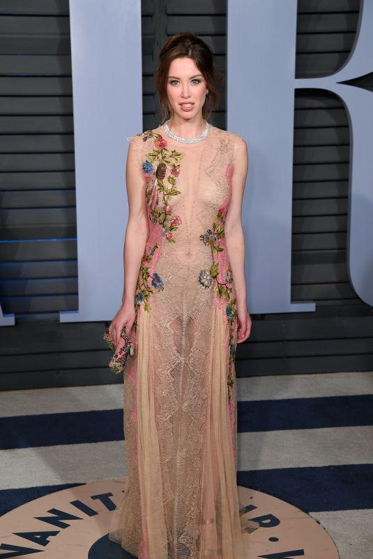 MELISSA BOLONA at 2018 Vanity Fair Oscar Party in Beverly Hills 03/04/2018