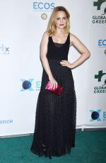 MENA SUVARI at Global Green Pre-Oscars Party in Los Angeles 02/28/2018