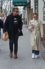 MENA SUVARI Out for Lunch in Beverly Hills 03/16/2018