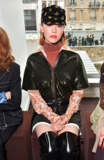 MIA GOTH at Chloe Show at Paris Fashion Week 03/01/2018