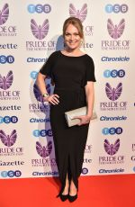 MICHELLE HARDWICK at Pride of the North East Awards in Newcastle 03/27/2018