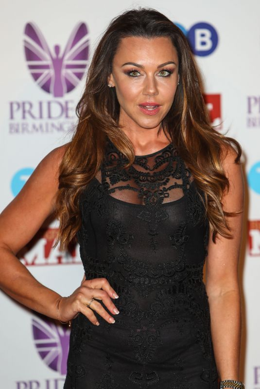 MICHELLE HEATON at Pride of Birmingham Awards 03/08/2018