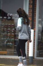 MICHELLE KEEGAN Out and About in Essex 03/30/2018