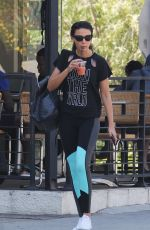 MICHELLE KEEGAN Out for Breakfast in Los Angeles 03/08/2018