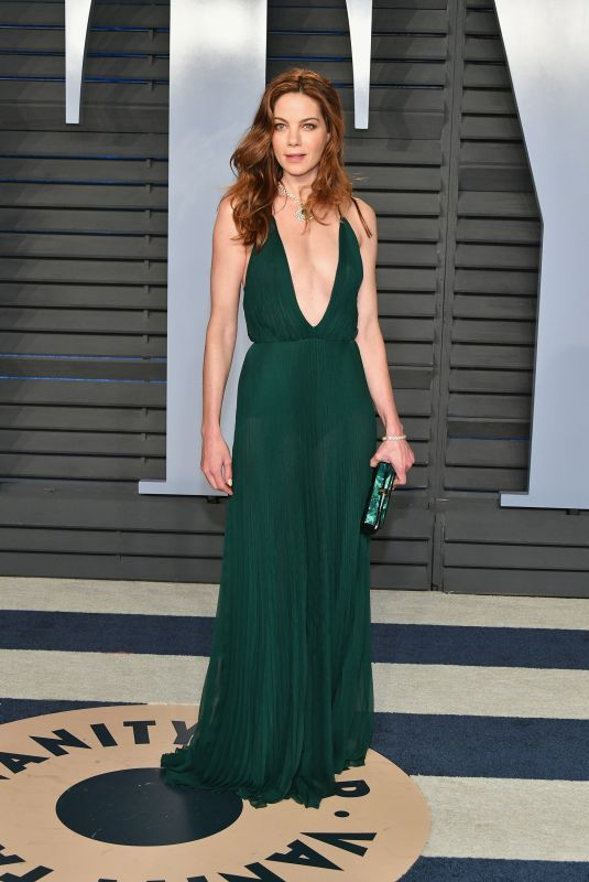 MICHELLE MONAGHAN at 2018 Vanity Fair Oscar Party in Beverly Hills 03/04/2018