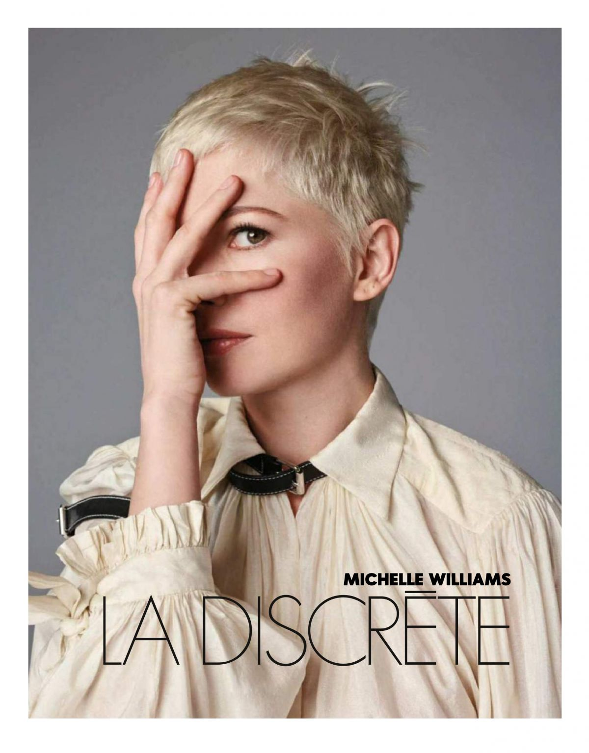 michelle williams in elle magazine france january 2018