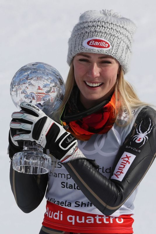 MIKAELA SHIFFRIN Wins Audi FIS Alpine Ski World Cup Final in Are 03/17/2018