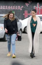 MILA KUNIS Leaves a Nail Salon in Hollywood 03/16/2018