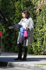 MILA KUNIS Out and About in Los Angeles 03/09/2018