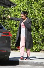 MILA KUNIS Out and About in Los Angeles 03/19/2018