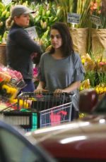 MILA KUNIS Shopping at Whole Foods in Beverly Hills 03/30/2018