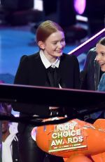 MILLIE BOBBY BROWN at 2018 Kids' Choice Awards in Inglewood 03/24/2018