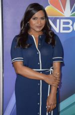 MINDY KALING at NBC Midseason Press Junket in New York 03/08/2018