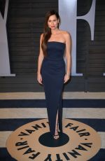 MINNIE DRIVER at 2018 Vanity Fair Oscar Party in Beverly Hills 03/04/2018