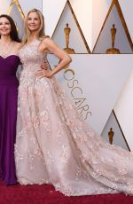 MIRA SORVINO at 90th Annual Academy Awards in Hollywood 03/04/2018