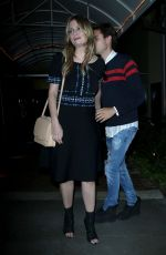 MISCHA BARTON and James Abercrombie Out at Sunset Marquis in Los Angeles 03/29/2018