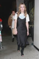 MISCHA BARTON Out for Dinner in Los Angeles 03/27/2018