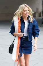 MOLLIE KING Arrives at BBC Radio 1 in London 03/24/2018