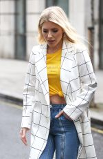MOLLIE KING Arrives at BBC Studio in London 03/10/2018
