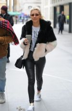 MOLLIE KING at BBC Studios in London 03/17/2018
