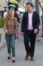 MOLLY QUINN Out for Lunch at Wally