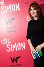 MOLLY RINGWALD at Love, Simon Premiere in New York 03/08/2018
