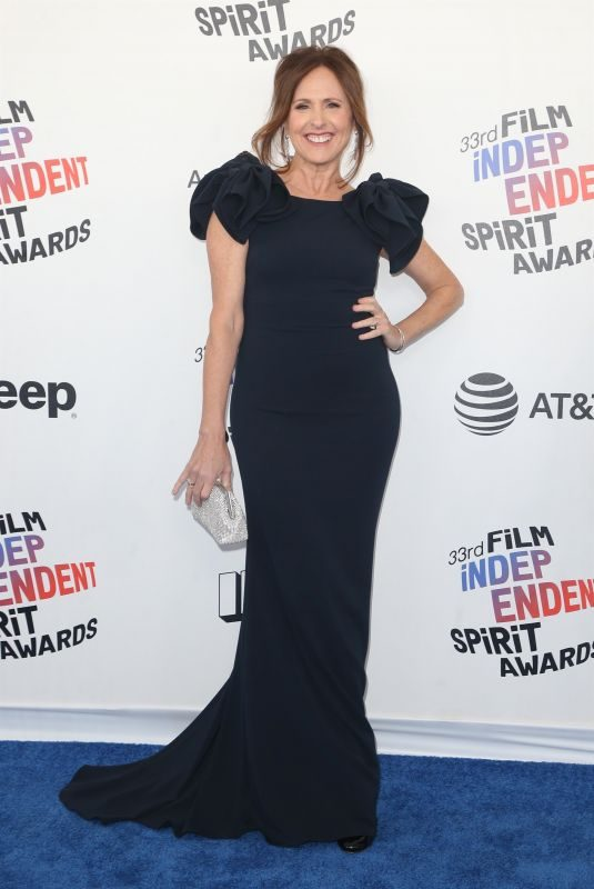 MOLLY SHANNON at 2018 Film Independent Spirit Awards in Los Angeles 03/03/2018