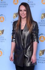 MOLLY WINDSOR at RTS Programme Awards in London 03/20/2018
