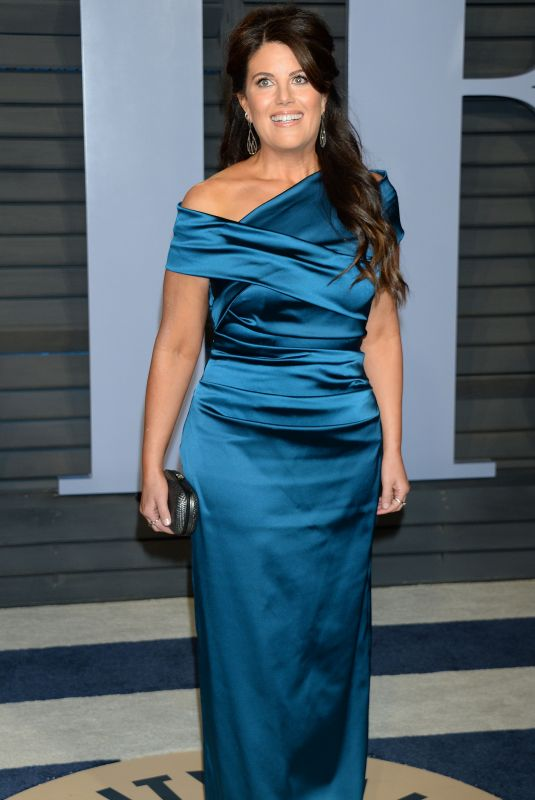 MONICA LEWINSKY at 2018 Vanity Fair Oscar Party in Beverly Hills 03/04/2018
