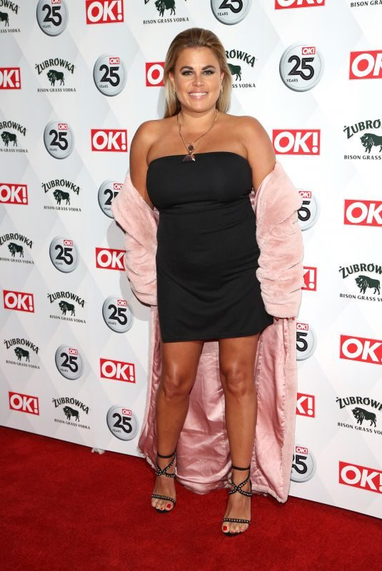 NADIA ESSEX at OK! Magazine's 25th Anniversary in London 03/21/2018