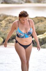NADIA ESSEX in Bikini at a Beach in Barbados 03/16/2018