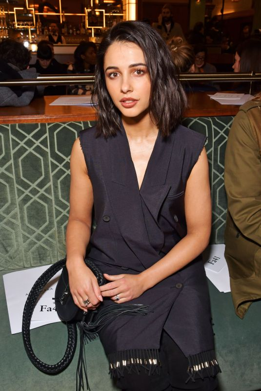 NAOMI SCOTT at Altuzarra Show at Paris Fashion Week 03/03/2018