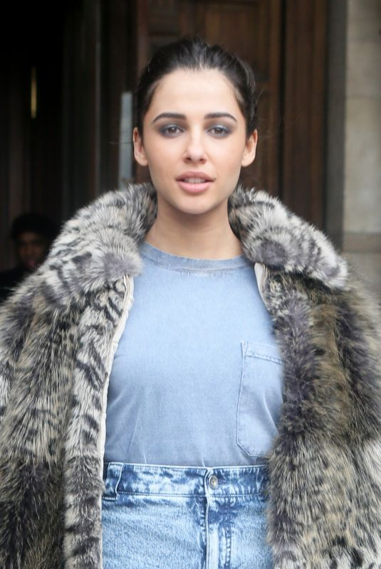 NAOMI SCOTT at Stella McCartney Show at Paris Fashion Week 03/05/2018