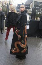 NAOMI SCOTT at Valentino Fashion Show at PFW in Paris 03/04/2018