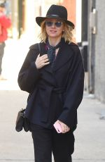 NAOMI WATTS Leaves Her Apartment in New York 03/23/2018