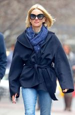 NAOMI WATTS Out in New York 03/29/2018