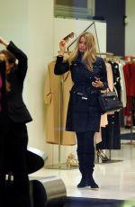NATALIA BUSH Out Shopping in Milan 03/23/2018
