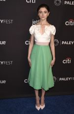 NATALIA DYER at Stranger Things Panel at Paleyfest 2018 in Hollywood 03/25/2018