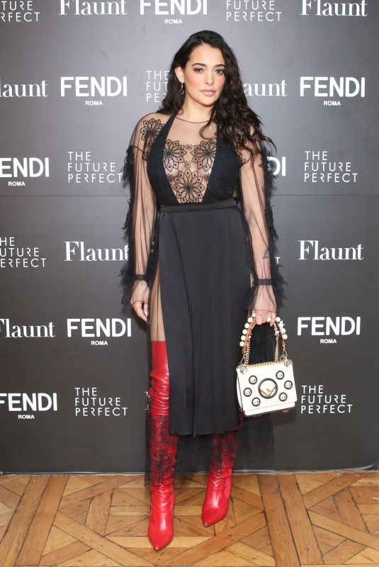 NATALIE MARTINEZ at Fendi x Flaunt Celebrate New Fantasy Issue in Los Angeles 03/21/2018
