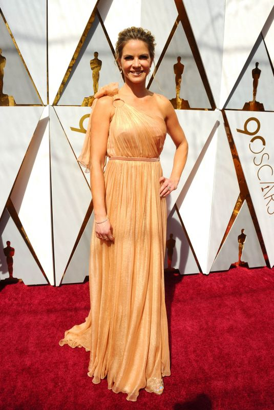 NATALIE MORALES at 90th Annual Academy Awards in Hollywood 03/04/2018