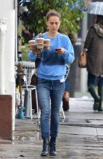 NATALIE PORTMAN in Jeans Out for Coffee in Los Feliz 03/22/2018