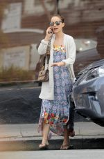NATALIE PORTMAN Out for Coffee in Los Angeles 03/08/2018