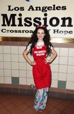 NATASHA BLASICK at Los Angeles Mission Easter Celebration 03/30/2018