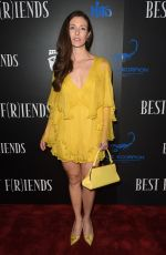 NATASHA HALEVI at Best F(r)iends Premiere in Los Angeles 03/28/2018