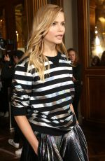 NATASHA POLY at Balmain Fashion Show at Paris Fashion Week 03/02/2018