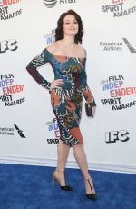 NATASHA ROMANOVA at 2018 Film Independent Spirit Awards in Los Angeles 03/03/2018